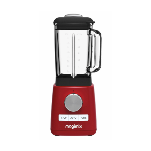 Power blender rood