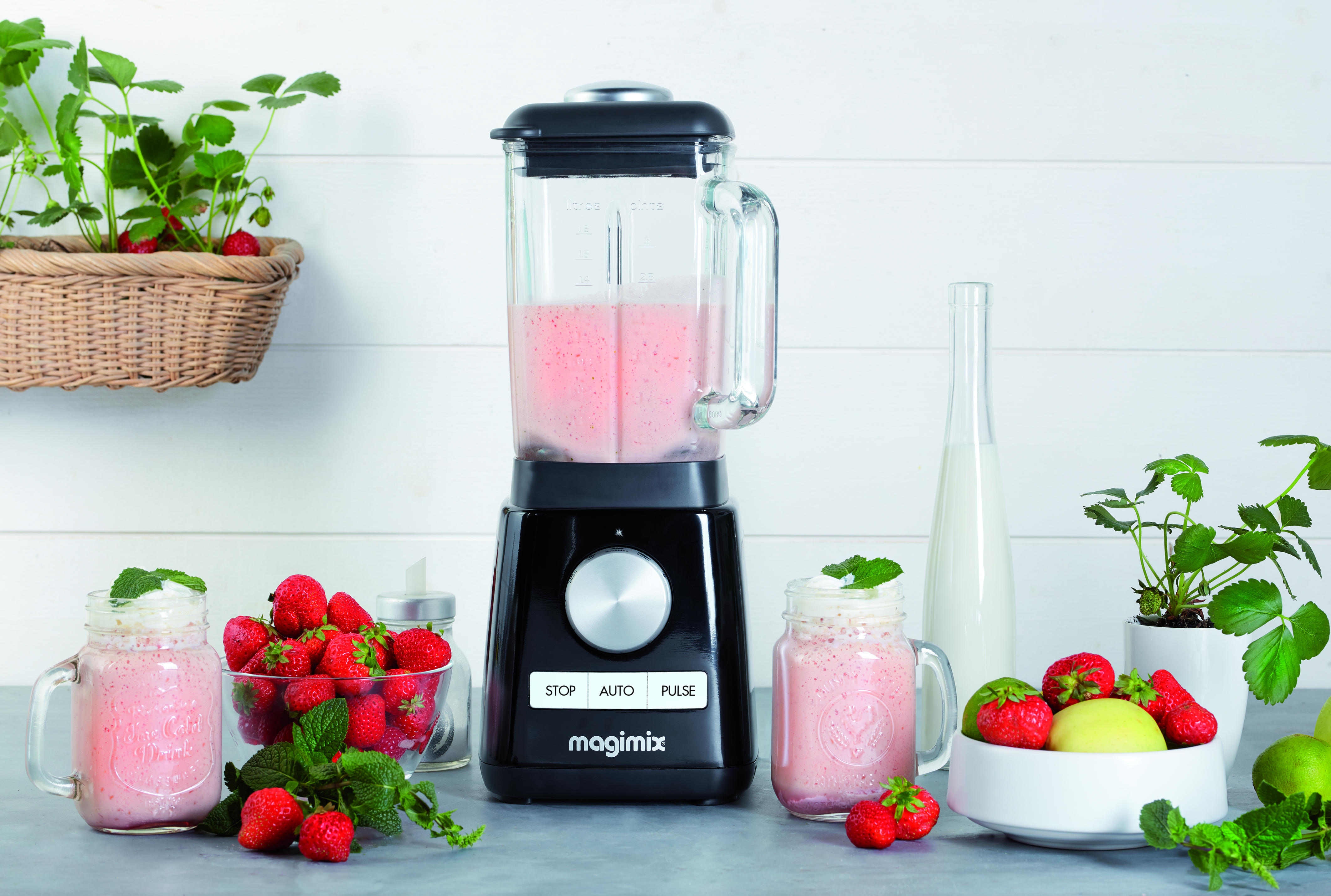 Power blender zwart