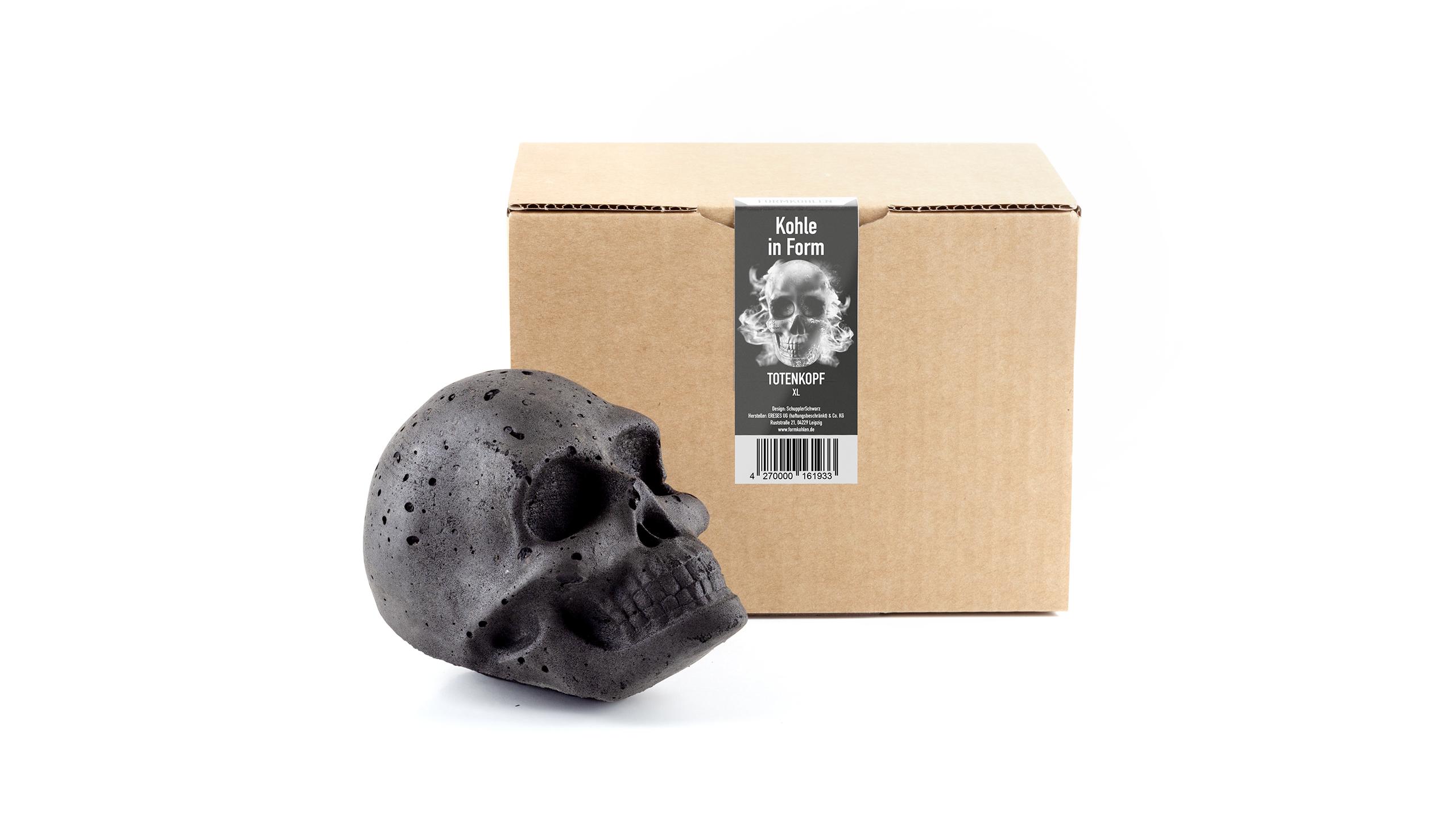 Skull briketten XXL