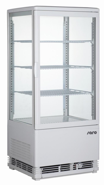 Saro mini-koelvitrine 80 liter SC 80 wit