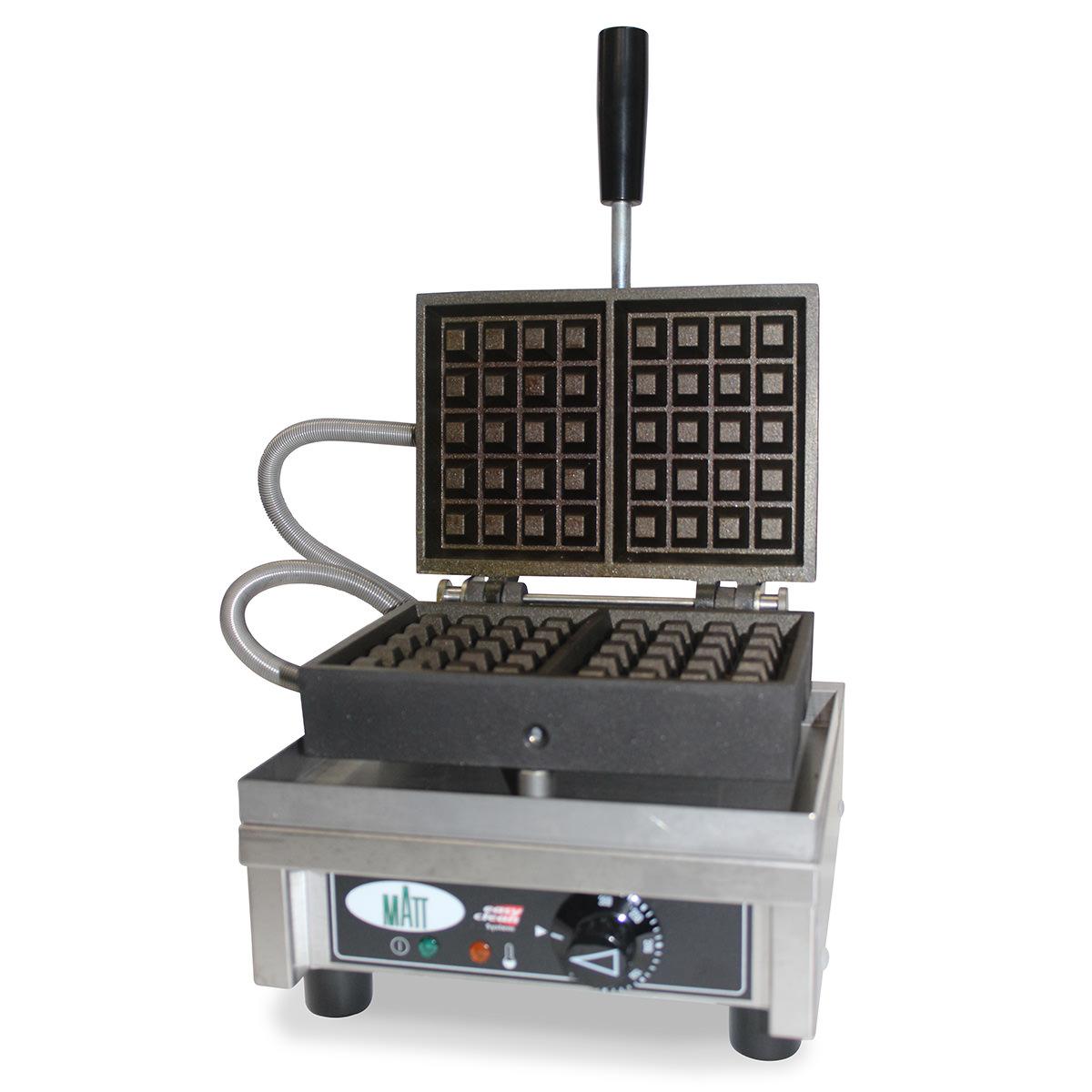 Matt Luikse wafel opwarmijzer 4x5
