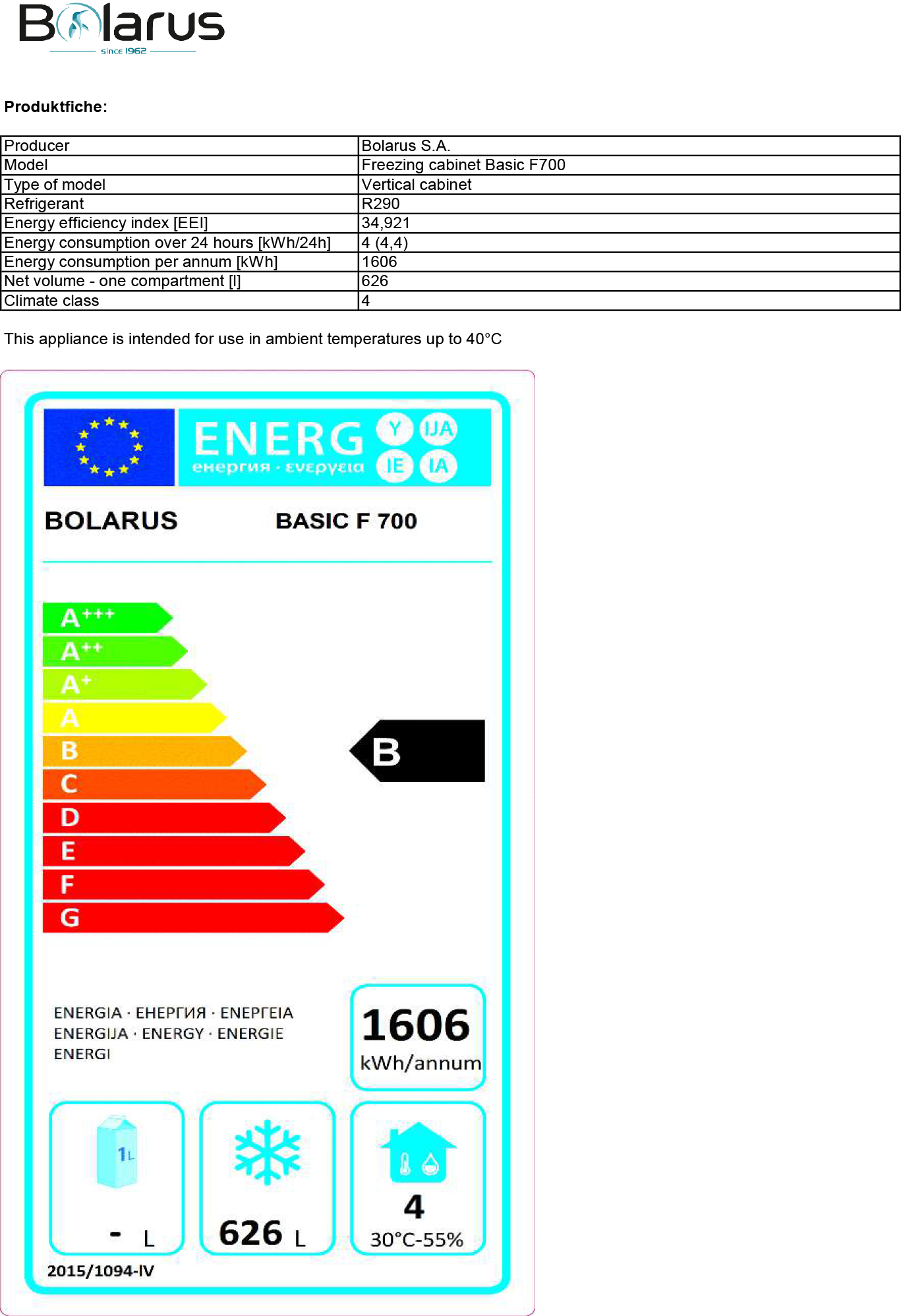 Saro koelkast C700 ventilator koeling