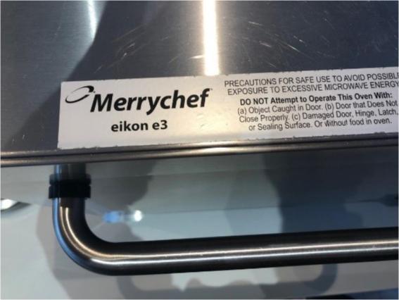 Merrychef combi magnetronoven Eikon e3
