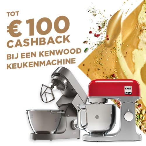 Cashback actie Kenwood - Martijn van Roon